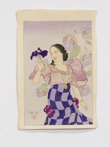 Portrait of a Chamorro Woman. Violet