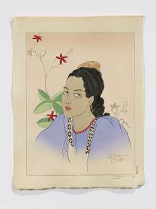Une jeune fille de Fidji