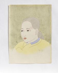 Jeune femme coréenne (Melle Lee) de Seoul