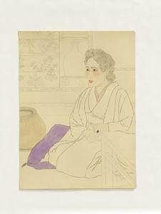 Melle Kinko Iwazaki, chez moi à Akasaka Nakanocho