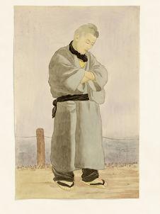 Takatsuka Ushimatsu, jeune homme de Mizuhara