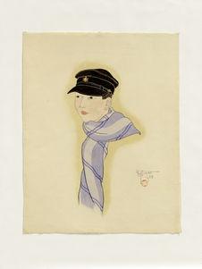 Portrait du jeune Shiro Takenaka