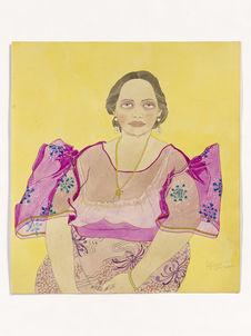 Mme Luisa Ada. Riche femme de Saipan