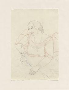 Portrait de Luisa Ada, riche femme chamorro de Guam