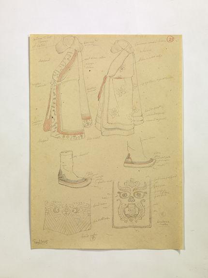 Costume Tibet Homme et bottes. (25)