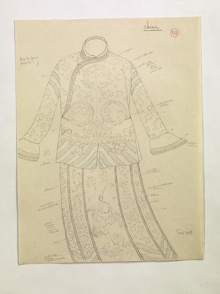 Robe de femme et veste. (50)