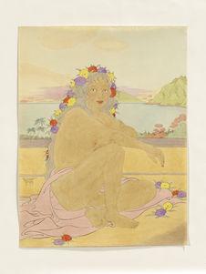 Jeune femme de Ponapé