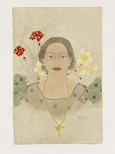 Portrait de Melle Luisia Ada