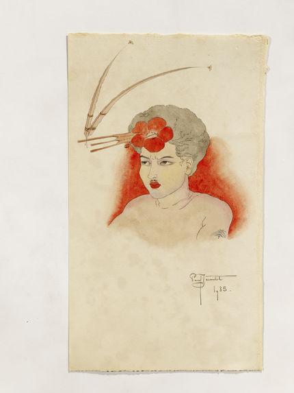 Portrait de R., indigène de Tomil