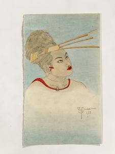 Portrait de Runabai-fils