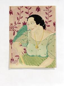 Portrait de Melle Luisa Ada. Grande dame chamorro de Guam