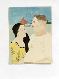 M. Pierre Nedelec et sa petite fille Liwan Hartman