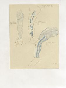 Tatouages divers (20). Bras d'homme de Marshalls, jambe d'homme de Yap...