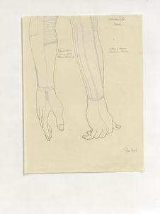 Tatouages (IX). Bras et main d'homme Allmelick