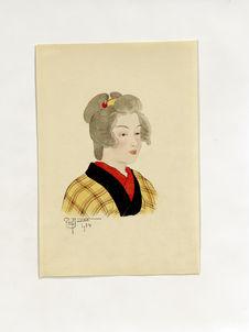 La jeune geisha Koika