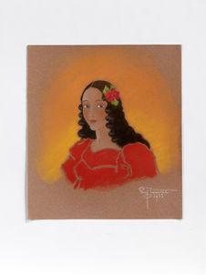 Portrait d'une belle de Ponape