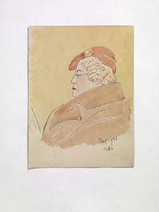 A woman, reading a book [une femme, lisant un livre]