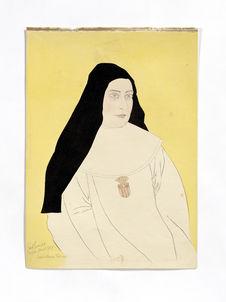 Portrait de la Soeur espagnole Maria Theresa