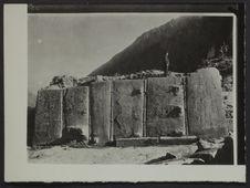 Ollantaytambo. Mur mégalithique