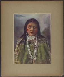 Hattie Tom. Chiricahua Apache
