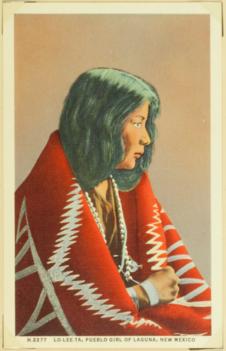 Lo-lee-Ta, pueblo girl of Laguna, New Mexico