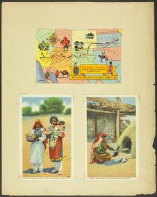 Cartes postales montrant l'artisanat au Nouveau-Mexique