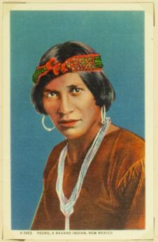 Pedro, a navaho indian, New Mexico