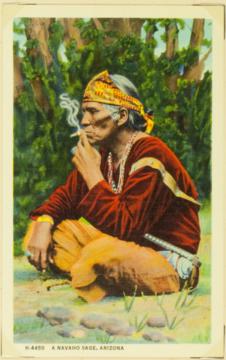 A navaho sage, Arizona