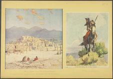 A pueblo, New Mexico