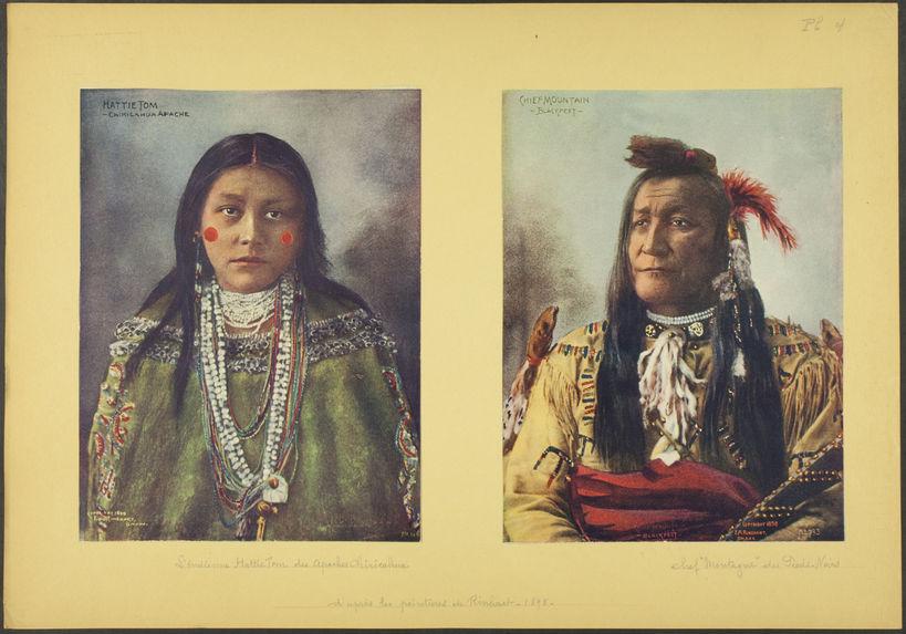 Hattie Tom, Chiricahua Apache
