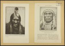 L'homme blanc le chasse, Indien vieux style