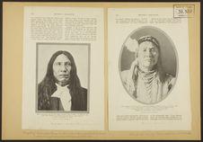Nuage Rouge, chef ogalala sioux, mort en 1909 à 87 ans