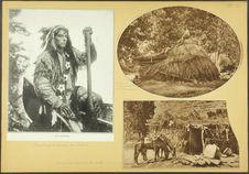 Havasupaïs. Leur primitive hutte