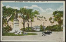 Homboldt Statue, Humboldt Park, Chicago, Ill.