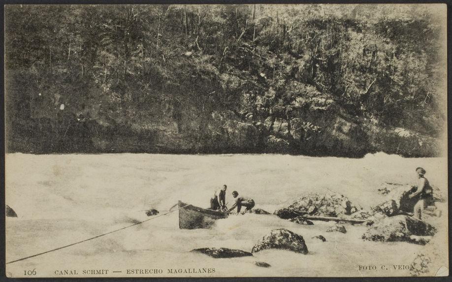 Canal Schmit - Estrecho Magallanes