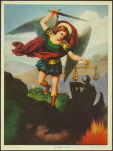 410. St. Michael. San Miguel, Arcangel