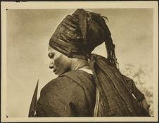 Tchad. Type de Cavalier Bororo