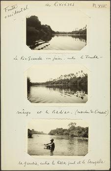 Fouta occidental. Le Rio-Grande en juin entre le Tenda-mayô et la Badiar