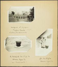 Mosquée et cigognes. Toggere Kumbe, résidence de saison sèche