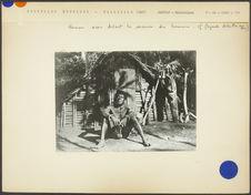 Chef indigène de Meriver à Mallicolo