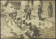 Cuenca. Blanchissage des chapeaux