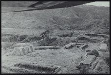Mixco Viejo. Vista aerea del grupo B en 1961