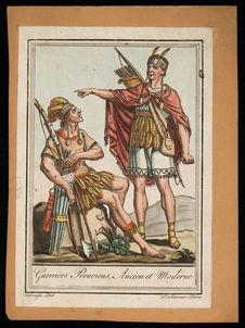 Guerriers péruviens, ancien et moderne