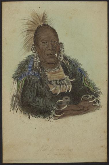 Wah-ro-nee-sah - The Surrounder - An Ottoe chief