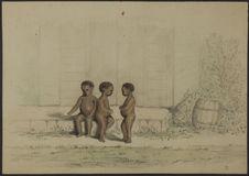 Enfants. Guadeloupe