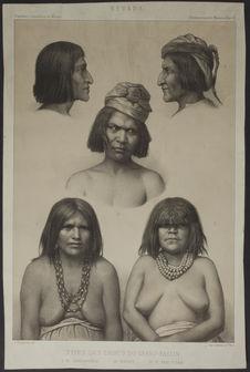 Nevada. Types des tribus du Grand-Bassin
