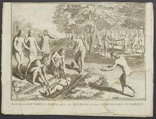 Danse des sauvages de Paria auour des mourans [sic.]