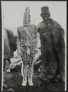 Sans titre [deux indiens Selk'nam pour la cérémonie du Hain]