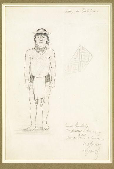 Homme guahibo, rive gauche de l'Orénoque