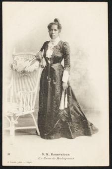 S.M. Ranavalona, Ex-Reine de Madagascar